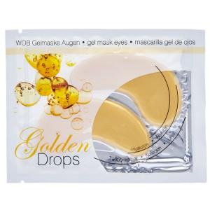 WOB Gelmaske Golden Drops - 8 Stück