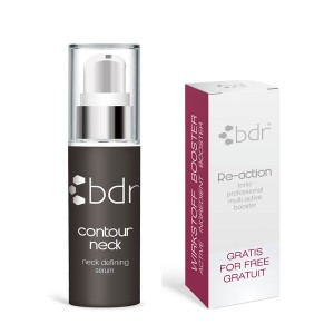 bdr contour neck Serum + Re-action Tonic