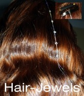 Swarovski-Style Hair-Jewels
