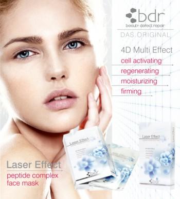 bdr Laser Effect Maske - 1Stück