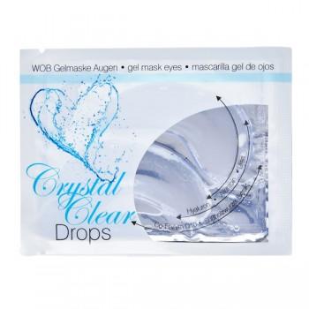 """WOB Gelmaske """"Crystal Clear Drops"""" 10x 2 Stück"""