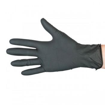 Nitril-Einweghandschuhe -100 Stück - Schwarz oder Weiß