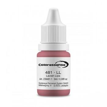 Coloressense 4.81 Lavish Lips - 9 ml Flasche