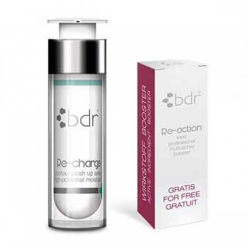 Re-charge Hyaluronserum + Gratis Re-action tonic