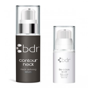 bdr contour neck Serum + GRATIS Re-action Body Reisegröße