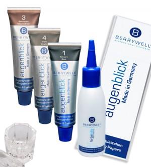 Berrywell Komplett-Set Augenbrauen- und Wimpernfarbe