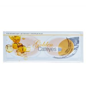 WOB Gelmaske Cateyes Gold - 8 Stück