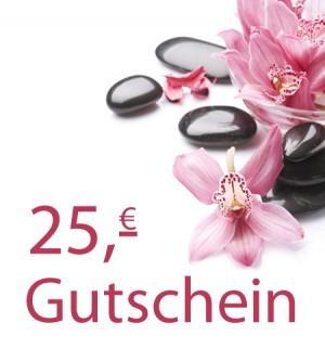 Gutschein 25,- Euro