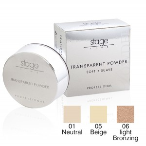 TRANSPARENT POWDER zart beige